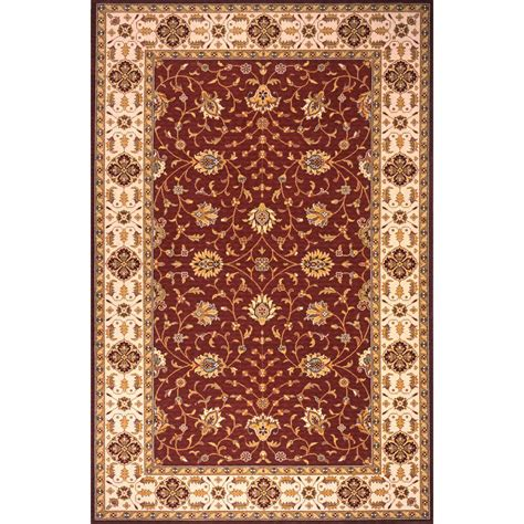burgundy area rugs 8 x 10 momeni garden burgundy 8 ft x 10 ft indoor area rug pergapg 08bur80a0 the home depot