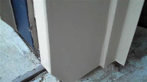 Garage Door Trim Repair by Repair Damaged Garage Door Molding After