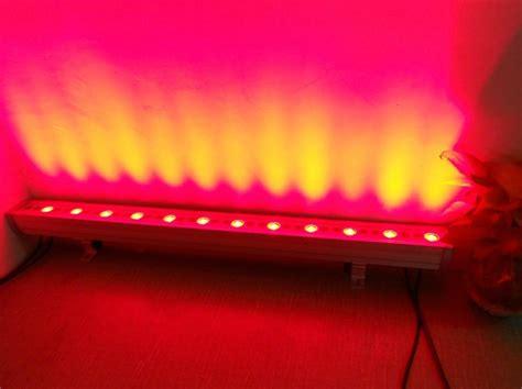 outdoor led light bar 36w led outdoor wall wash light 36x1w waterproof led bar