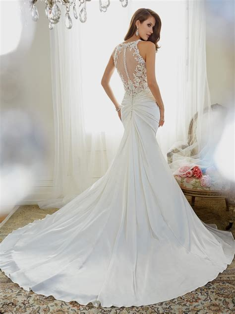 fit and flare wedding dress fit and flare wedding dress with straps naf dresses