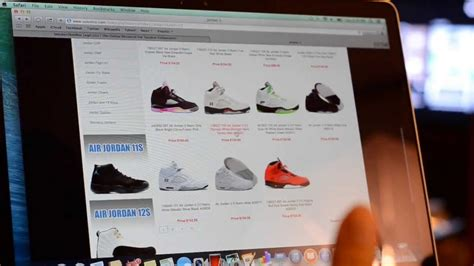 shoe websites for is that website selling real or air jordans