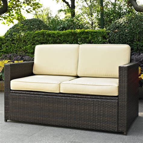 Small Outdoor Loveseat small outdoor loveseat outdoor sofas loveseats in home designs