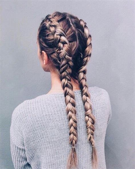 two french braids with weave 25 best ideas about two french braids on pinterest