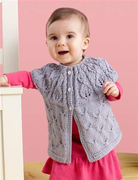 leaf pattern baby cardigan 10 free baby sweater knitting patterns knitting