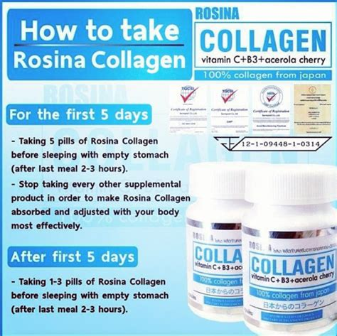 Rosina Collagen adammia world rosina collagen