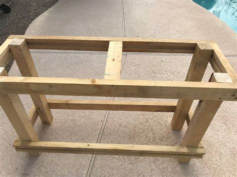 farmhouse entry table rustic entry table build