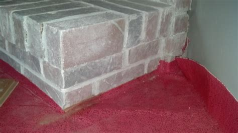installation   How do I cut a brick fireplace hearth to