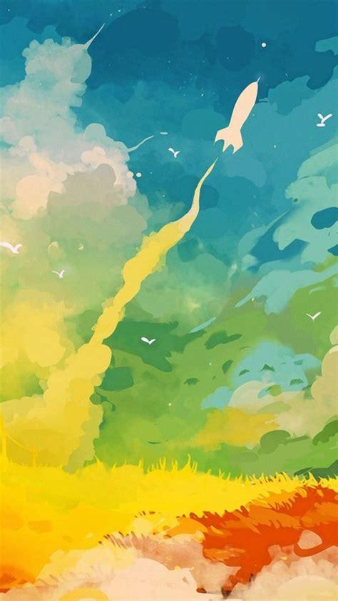wallpaper for iphone 5 art 640x1136 abstract multicoloured digital art iphone 5 wallpaper