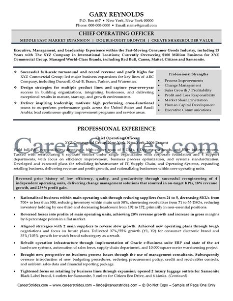 coo resume sle sle security guard resume 28 images 28 sle cover