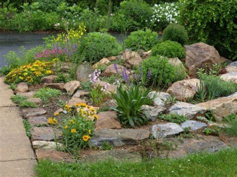 gartengestaltung steingarten gartengestaltung beispiele praktische tipps und frische