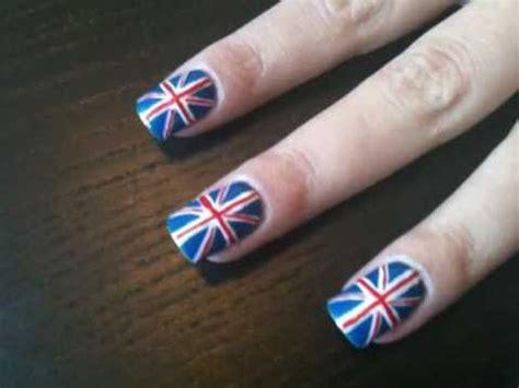 nail art tutorial british flag union jack british flag nail art tutorial royal
