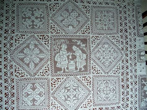 Shabby Lace Table Cloth 150 150 by 1000 Images About Filet Lace On Runners Ebay