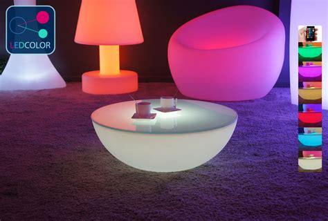 Lu Led Sorot Mobil table basse lumineuse led multicolore moon light s