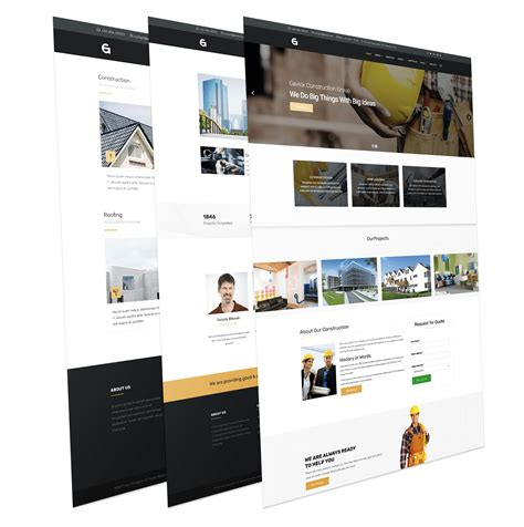 gav construction joomla template for building company