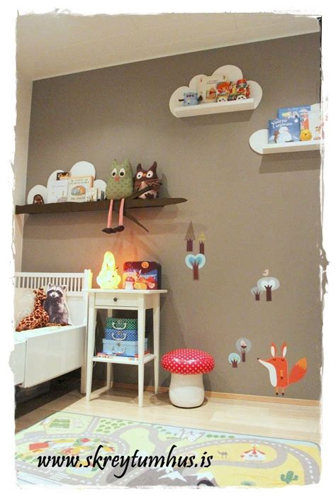 shelves for rooms ikea ribba shelf used as basis for tree and cloud shelves for a room af blogginu my
