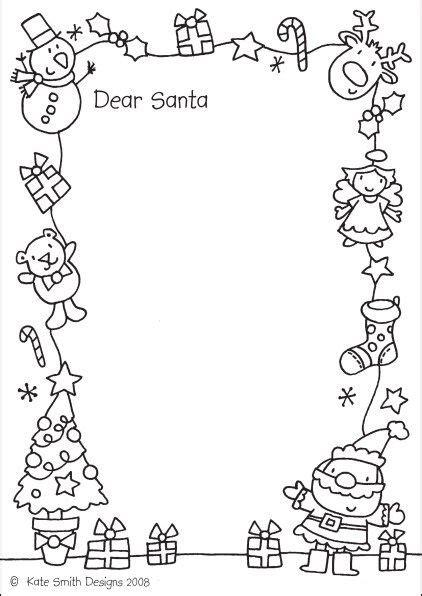 santa letters printable letters santa
