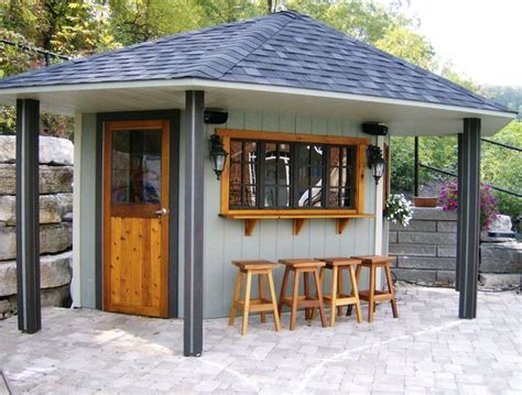backyard pub back yard bar with roof backyard cabana back yard