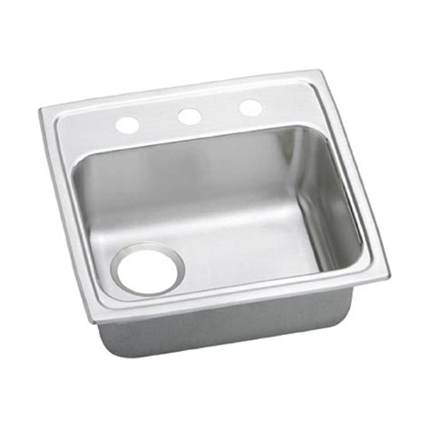 Elkay Pacemaker Drop In Stainless Steel 20 In 2 Hole 2 Kitchen Sink