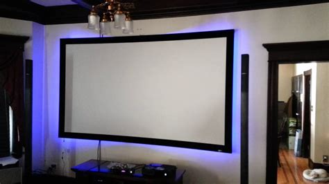 led light projector l projector screen l e d function test