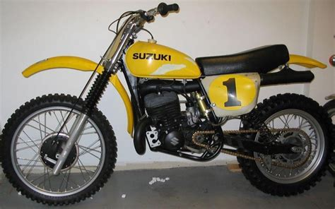 works motocross bikes vintage suzuki works bikes vintage dirt bikes thumpertalk