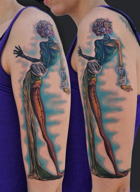 salvador dali rose tattoo dali by tattoonow
