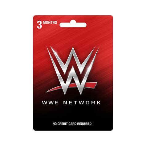 wwe network 3 month subscription prepaid card wwe us - Wwe Shop Gift Card