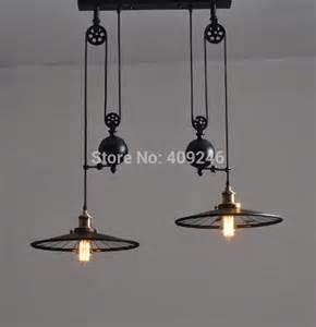Online Chandelier Lighting Stores Loft Edison Industrial Retro Droplight Double End Mirror
