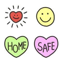 stay home  safe  emoji  store