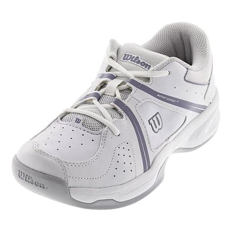 tennis express wilson juniors nvision envy tennis shoes