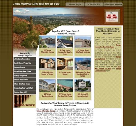 Real Estate Websites Idx Solutions Mls Idx Real Estate Website Templates With Idx