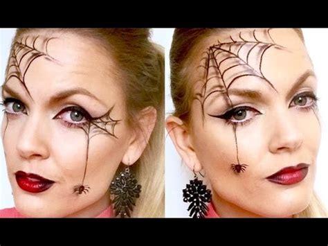 spider black widow halloween makeup agaclip