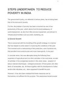 Essay On Poverty by Essays In Poverty Reduction Ias Mains Ies Rbi Oters