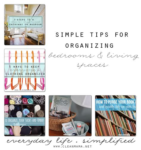cleaning and organizing tips for bedroom simple tips for organized bedrooms living spaces clean