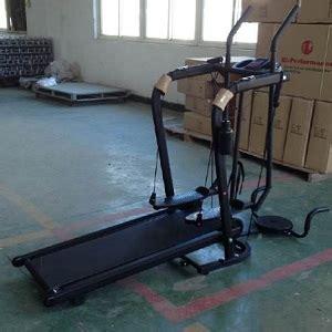 Alat Fitness Treadmill Manual Freestyle Glider Monitor Elektrik Pulse jual treadmill manual freestyle glider grosirplus