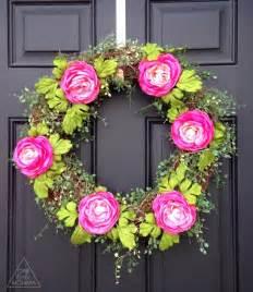 Diy Spring Wreath 5 Diy Spring Wreaths Ideas