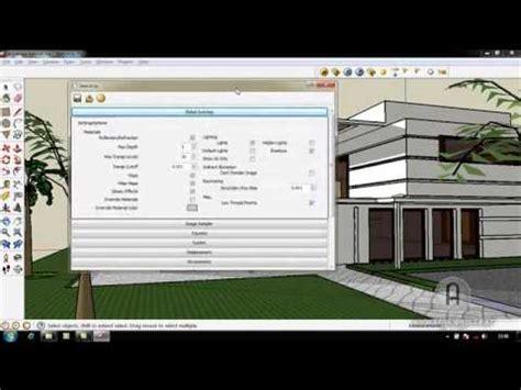 Tutorial Dasar Vray Sketchup | tutorial dasar penggunaan plugin vray pada sketchup 8 by