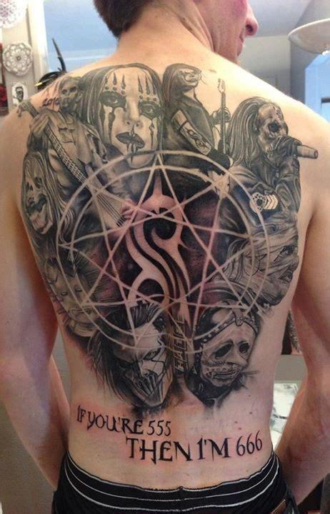 prenons un moment pour appr 233 cier ces tatouages slipknot