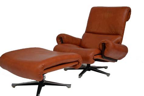 armchair with ottoman 1978 modernism