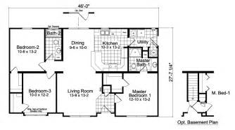 3 Bedroom 2 Bath Ranch Floor Plans by 3 Bedroom 2 Bath Ranch Floor Plans Draw A Two Bedroom