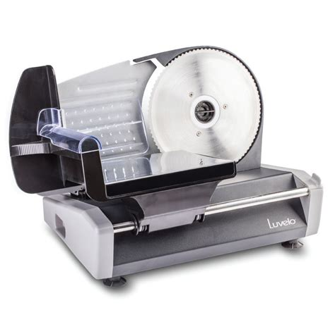 slicer 180w food slicer electric bread slicer luvele