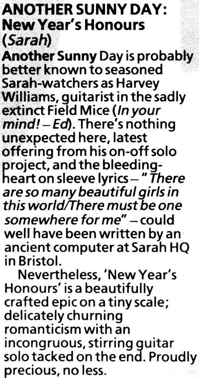 another day new year s honours nme records