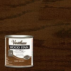varathane 1 2 pt walnut wood stain 266198 the home