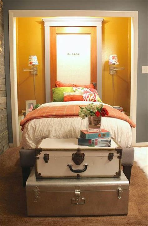 Putting Bed In Closet by Guest Bedroom Bed Nooks Kara Paslay Design