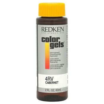 4rv hair color redken color gels permanent conditioning haircolor 4rv