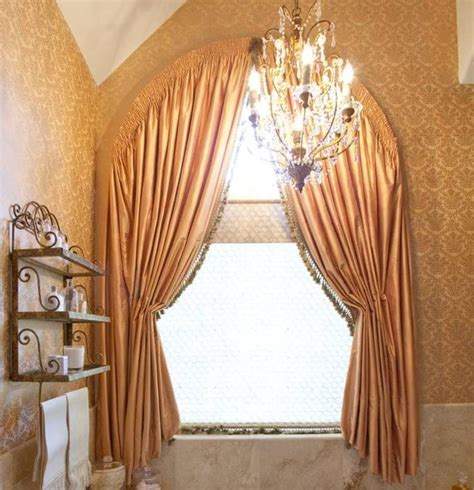 italian window treatments home design and decor fancy arched window treatments