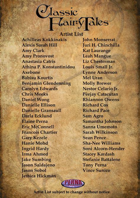 Adobe Ft by Classic Fairy Tales Artist List By Pernastudios On Deviantart