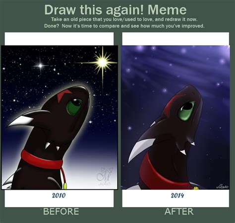 How To Make A Meme With 2 Pictures - httyd sky reven meme before after by srmario on deviantart