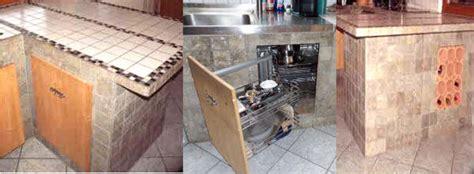 küche mauern theke diy k 252 che
