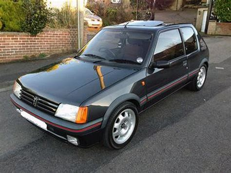 pug 205 gti for sale in the usa 1988 peugeot 205 gti bring a trailer