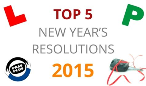 top 5 new year s resolutions for young drivers road